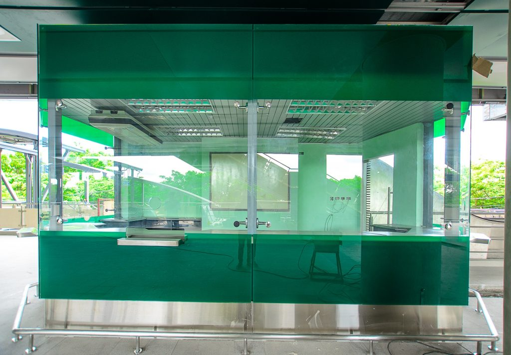 Ticket office room